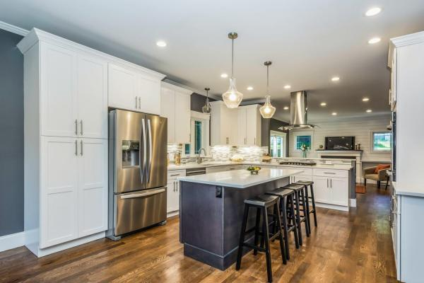 Design-Build Kitchen Remodel by Canty Brothers Construction Custom Home Build