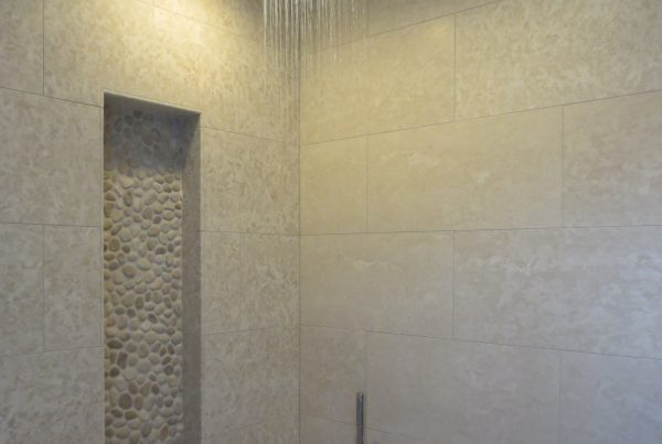 Canty Brothers Construction bathroom remodel rain shower