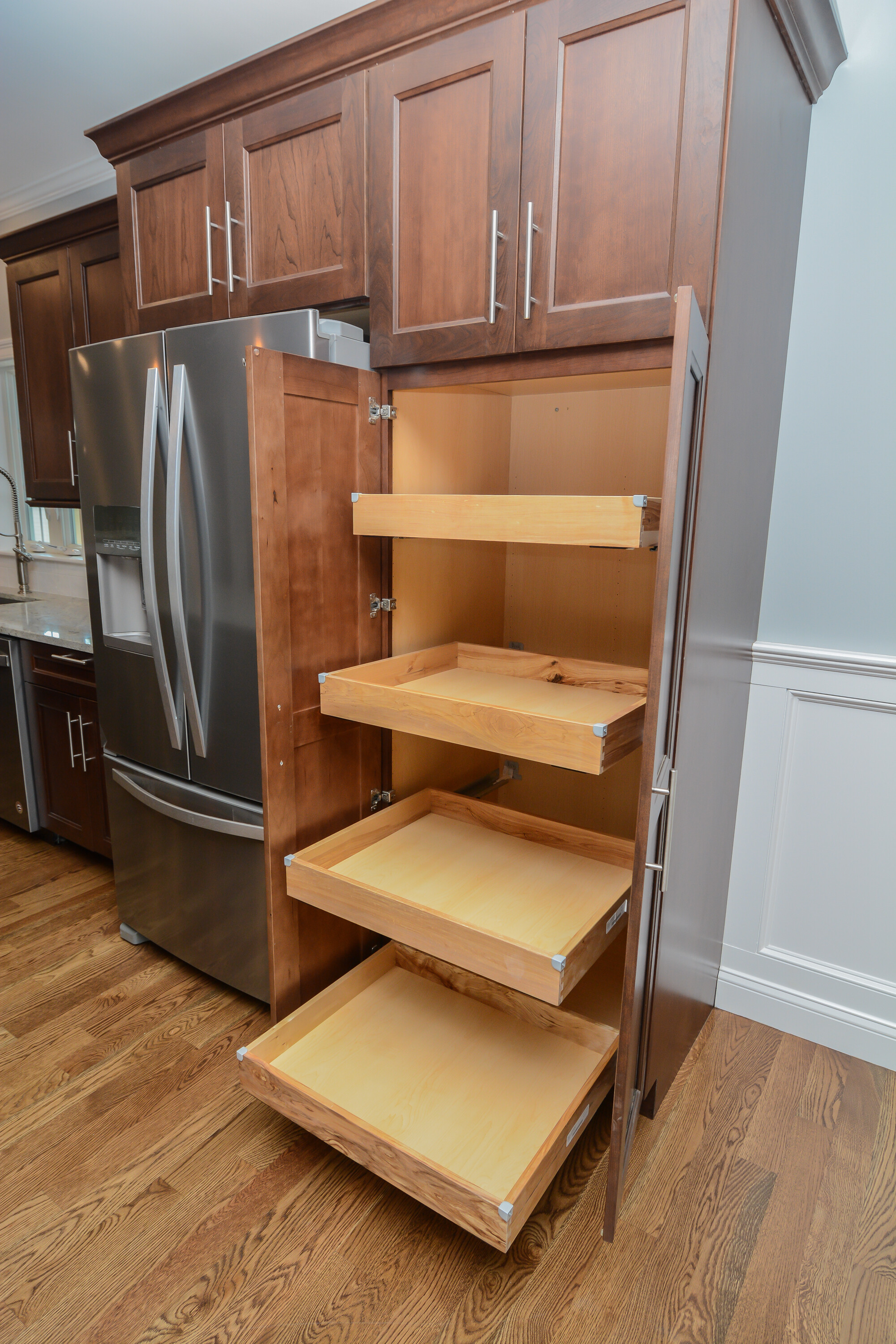 Framingham New Construction 2018 Canty Brothers Kitchen Organization