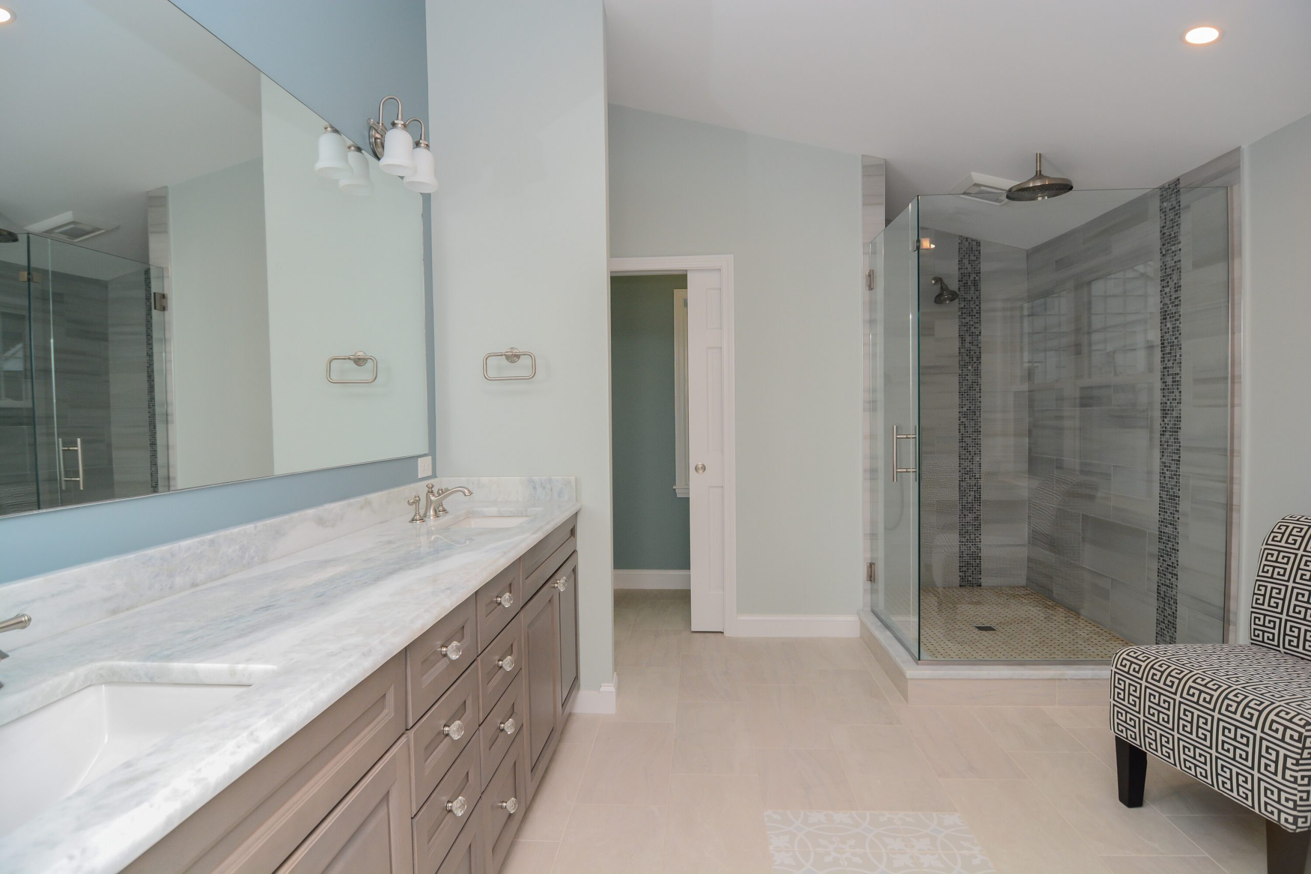 Design-Build Bathroom Remodel by Canty Brothers Construction