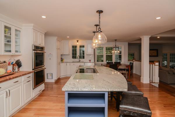 Canty Brothers Construction Kitchen Remodel Massachusetts kitchen island