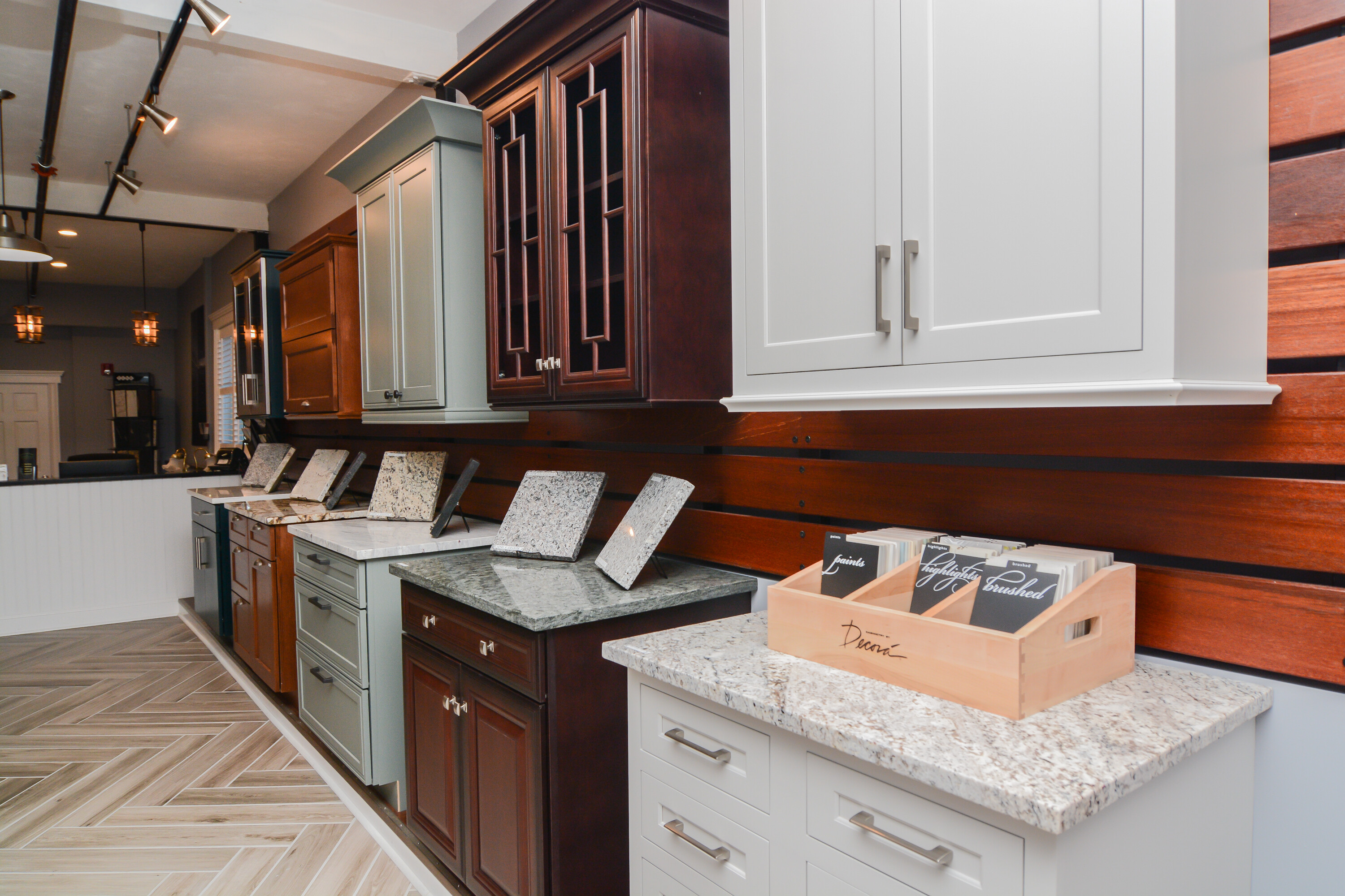 Canty Brothers Construction Kitchen Cabinet & Countertops Showroom Marlborough Massachusetts