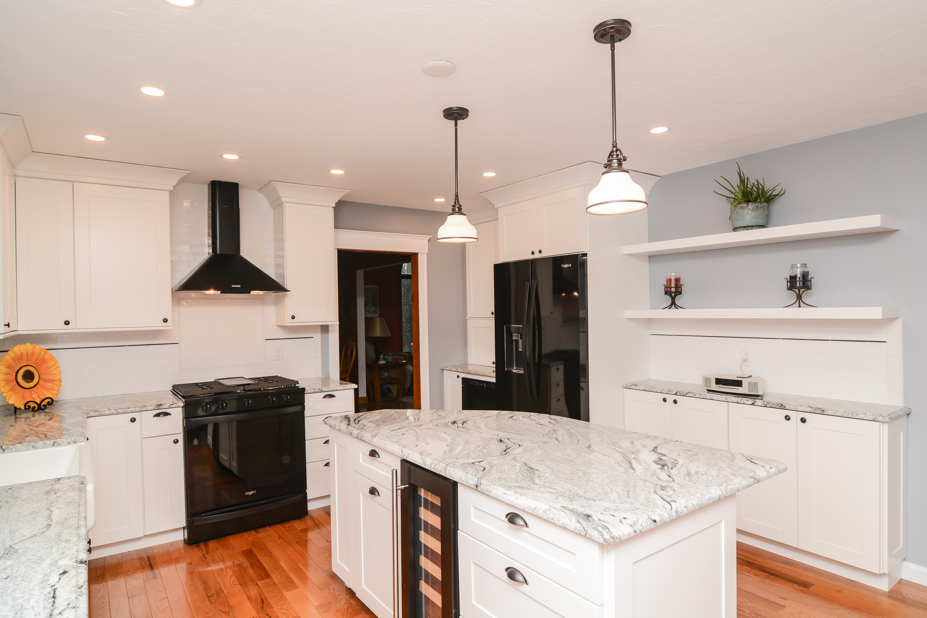 Marlborough Massachusetts Kitchen Remodel Canty Brothers Construction Design-Build top rated