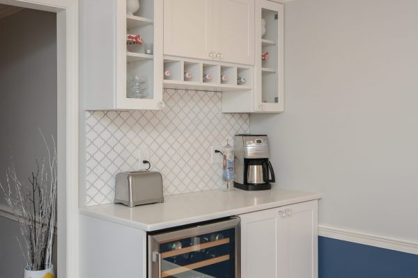 Canty Brothers Construction Kitchen Remodel Design Build Wine Fridge