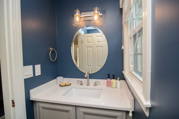 Canty Brothers Construction Powder Room Remodel