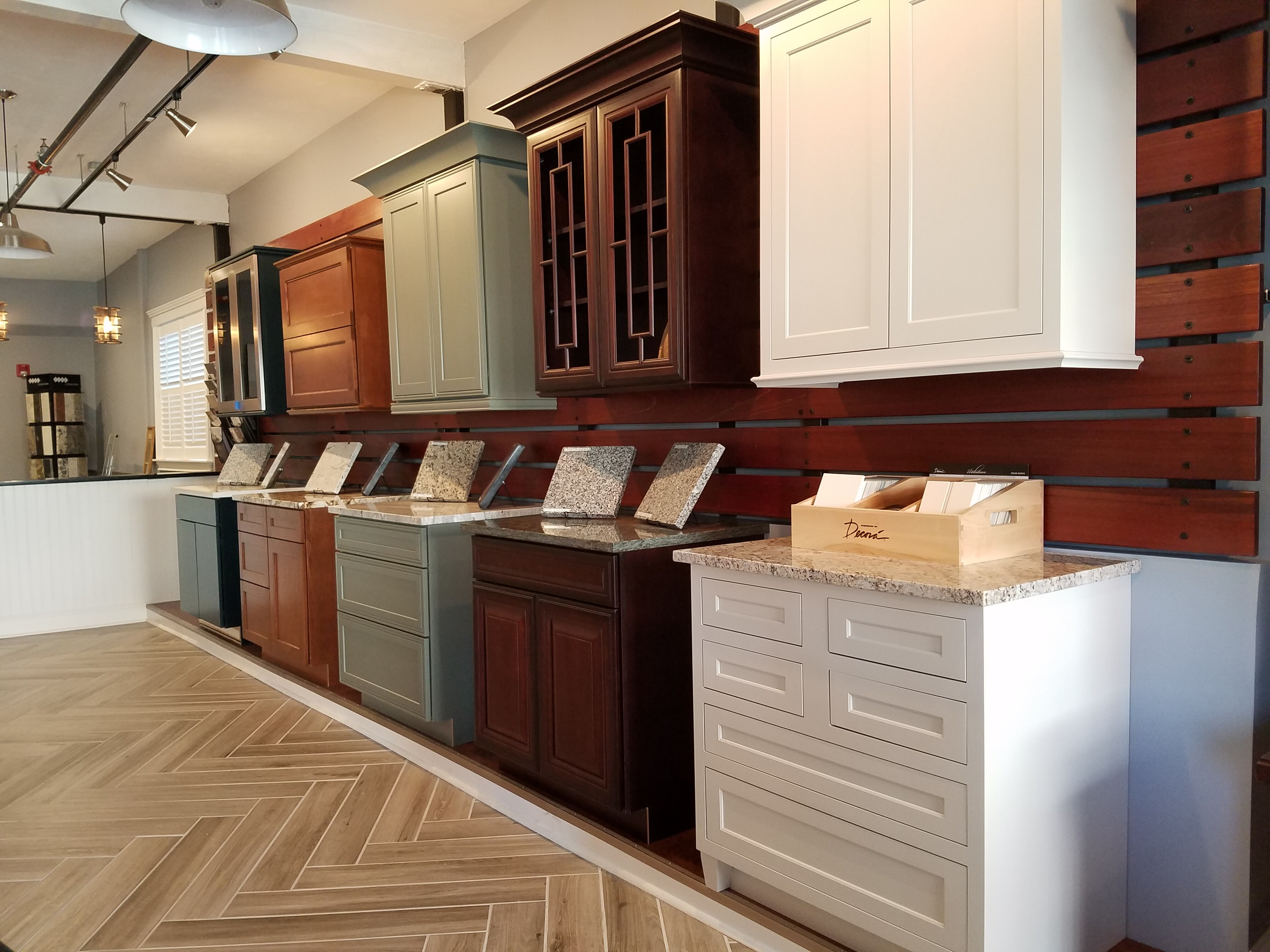 Showroom Selections Cabinets Countertops Kitchen Remodel Canty Brothers Construction