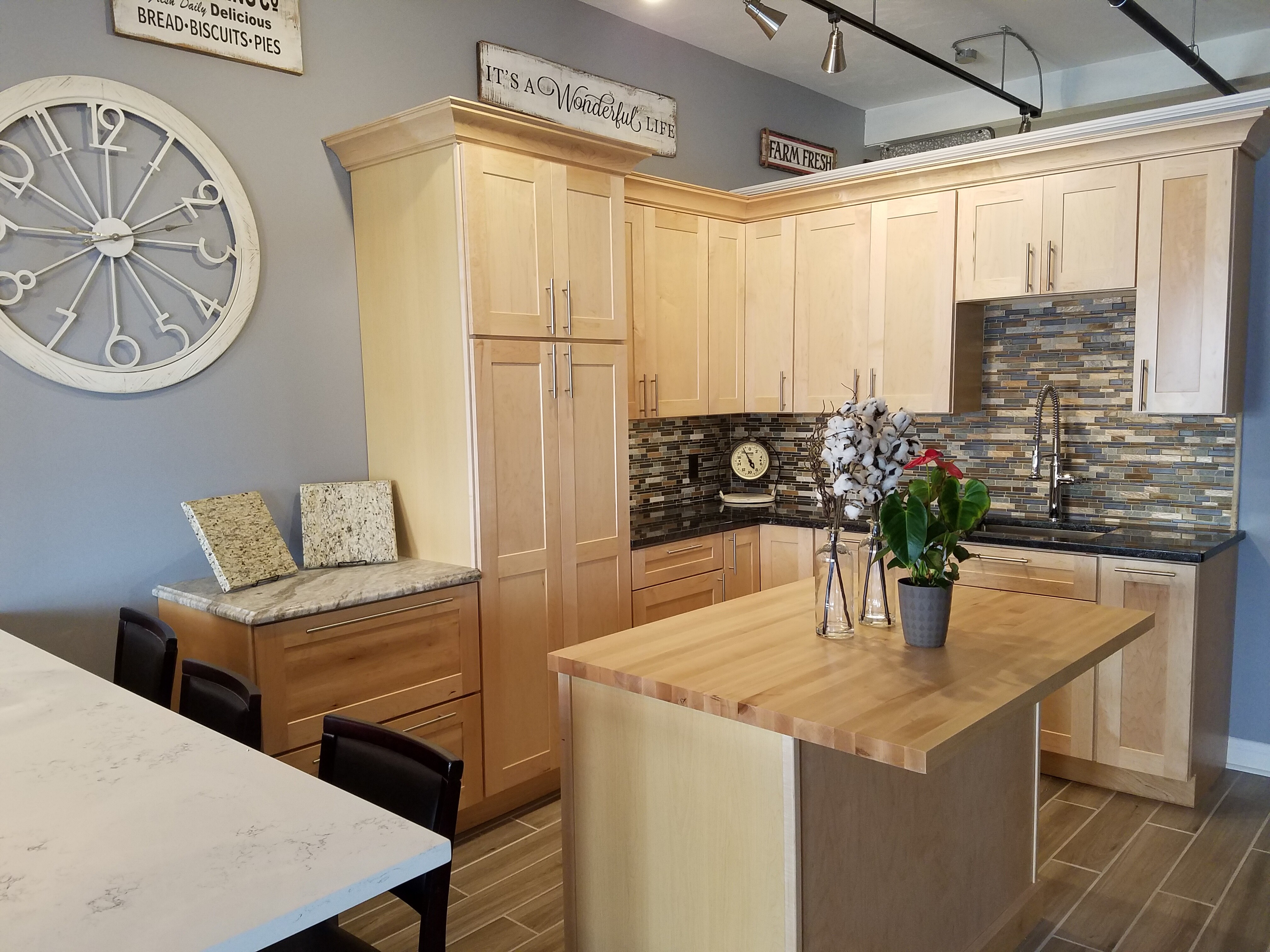 Kitchen Showroom Kitchen Remodel Canty Brothers Construction